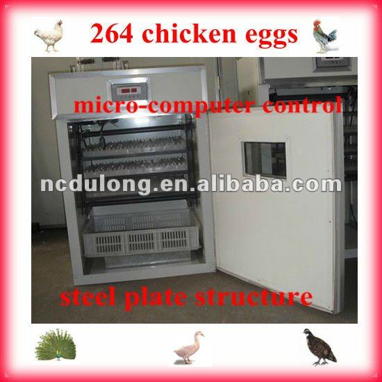 2012 CE approved hot selling advanced orisrich chicks for sale holding 264 chicken eggs