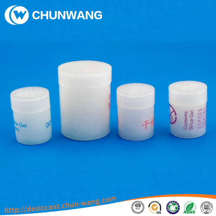 High Quality Silica Gel Canister bottle printing Do not Eat