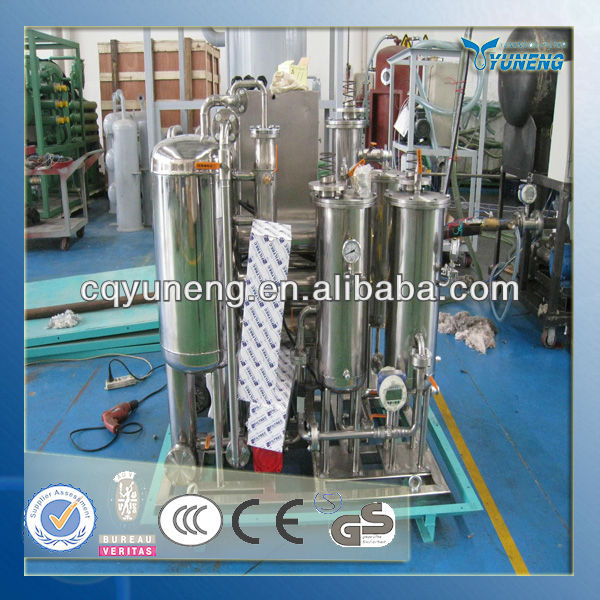Vacuum Fire Resistant Oil Treatment Equipment used in power station