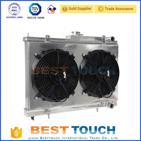 Customized autocar oil cooling radiator for seat altea