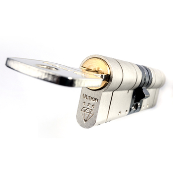 UK Ultion Top high security 3 Star Brass 6-Pin Euro Double cylinder door lock