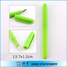 New promotional plastic Ink sac fountain pen