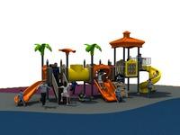 2014 popular child games outdoor playground equipment slide for kids