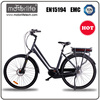 High speed e bike, low noisy brushless motor electrically powered bike,