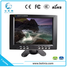 alibaba hot sale mini lcd monitor 7