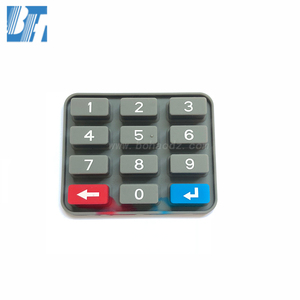 Free Sample OEM/ODM Manufacturer STS Meter Silicone Numeric Keypad