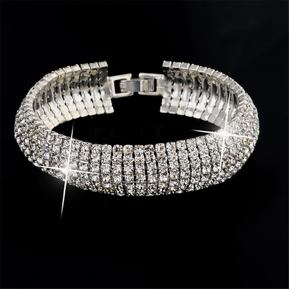 2015 новинка роскошные свадебные браслеты браслеты старинные золотые посеребренные браслет кристалл браслеты для женщин SBR140158