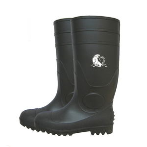 ece17aafb5f black steel toe oil resistant gum boots
