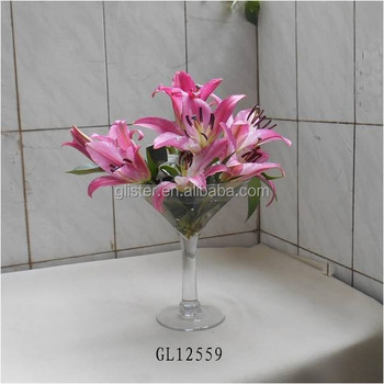 25cm Tall Giant Martini Wine Glass Centerpiece Vase Buy Glass