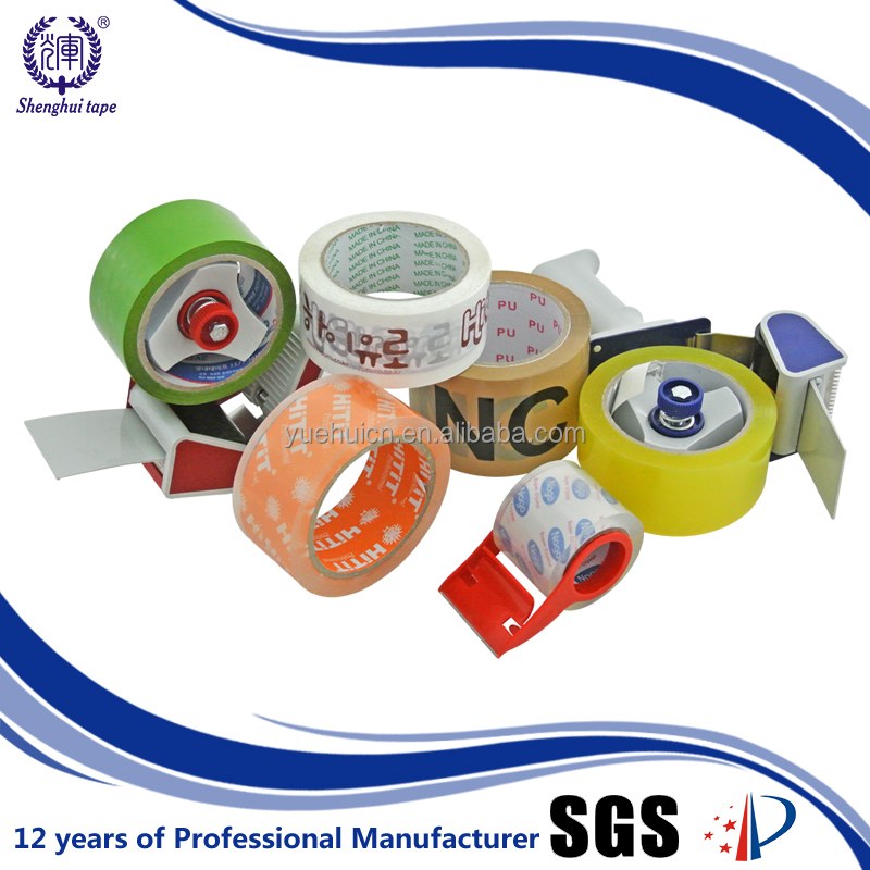 Korea Best Selling 2'' X 50M High Sticky Low Noise Transparent Tape