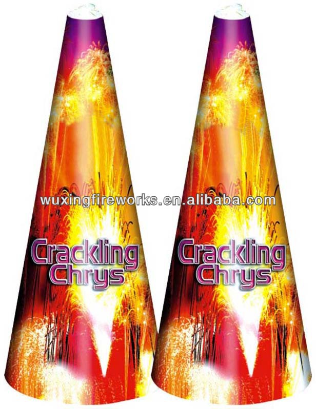 "13"" Crackling Chrys Fountain Fireworks/Outdoor Fireworks"