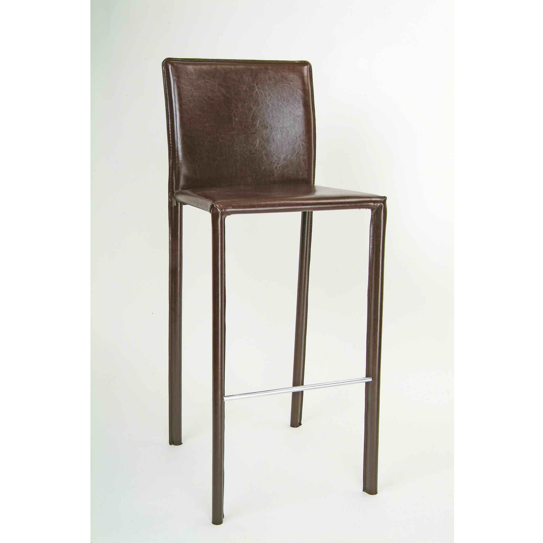 Modern Commercial Bar Furniture Home Goods Pvc Leather Stool Kitchen High Chair Recycle Back Stools