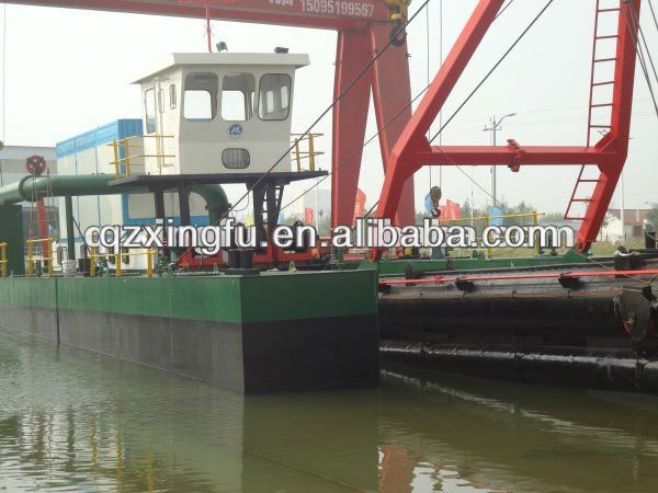 Electric cutter suction dredger vessel from Xingfu