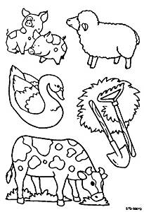 farm animals DIY Coloring Stained Stickers for Kids - Art and Crafts For Kids Window Clings Family Activities Fun Crafts For Kids Art Projects Removable Windows Stained Glass Decals