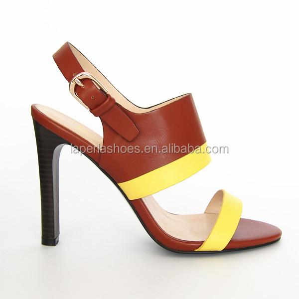 Fancy Ladies Sandals Girls Latest High Heel Gladiator Sandals For ...