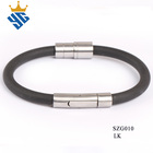Amazing Bracelets Bangles Men In Jewelry China Supplier Logo Lasered Best Price