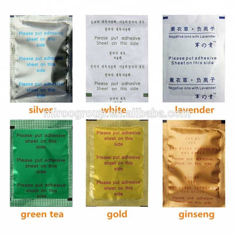 wholesale IMIROO detoxification clear radiation cure fatigue relax foot  patch,China green herbal detox foot patch with adhesive, View natural plant