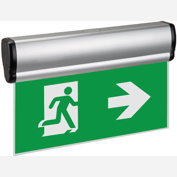 Canada Cul Csa Lamp Running Man Emergency Led Exit Sign Light ...