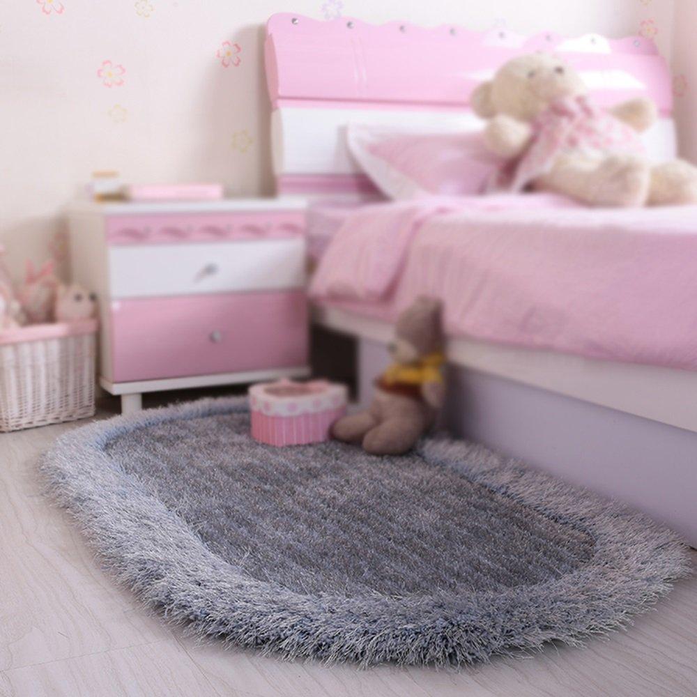 Get Quotations Home Oval Carpet Children S Room Full Floor Bedroom Bed Front Blanket