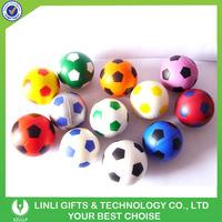 Custom Logo Soft Sports Soccer Ball PU Foam Plush Toy