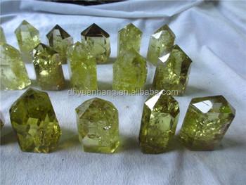 Beautiful Color Natural Citrine Quartz Crystal Wands,Polished Rock ...