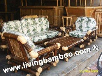 Ha Noi Brown Bamboo Living Room Furniture - Buy Bamboo Furniture,Living  Room Set,Sofa Product on Alibaba.com