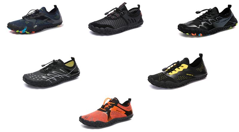 Descalço Tênis Para Caminhada Das Mulheres dos homens de Secagem rápida Sapatos de Água para Nadar de Surf Exercício