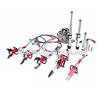 Gasoline powered fire rescue set rescue hydraulic equipment