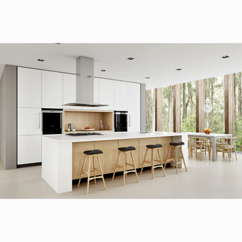 Nu0026L Modern Kitchen Cabinet Design Furniture Set China With BLUM Hardware  Fitting