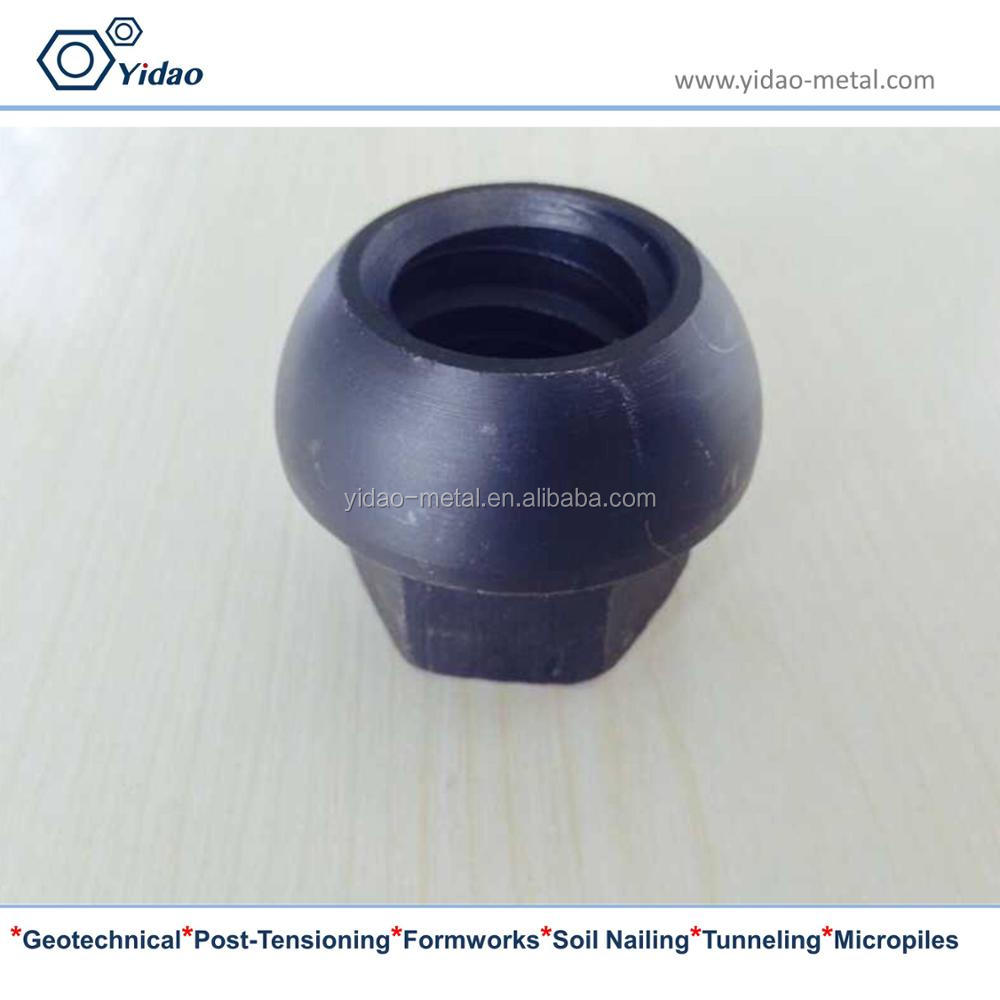 dome nut for rock bolt