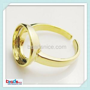 beadsnice Beadsnice ID 25010 Ring blanks adjustable 17mm wholesale ring bases for jewelry making