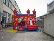 2017 hot inflatable jumping castle, playing castle inflatable bouncer, inflatable combo inflatable toy