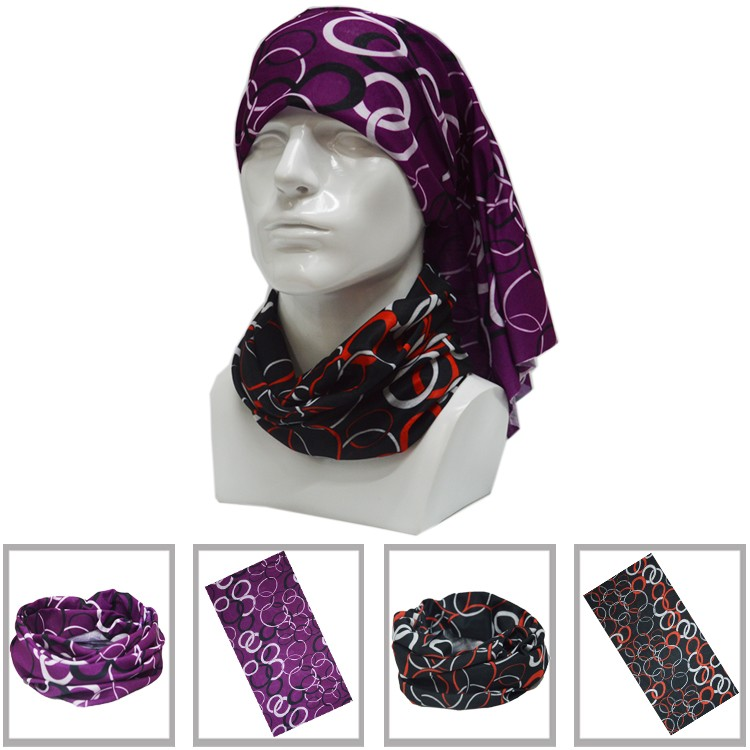Digital Print Custom Design Multi-wear Tube Scarf Bandana Pirate