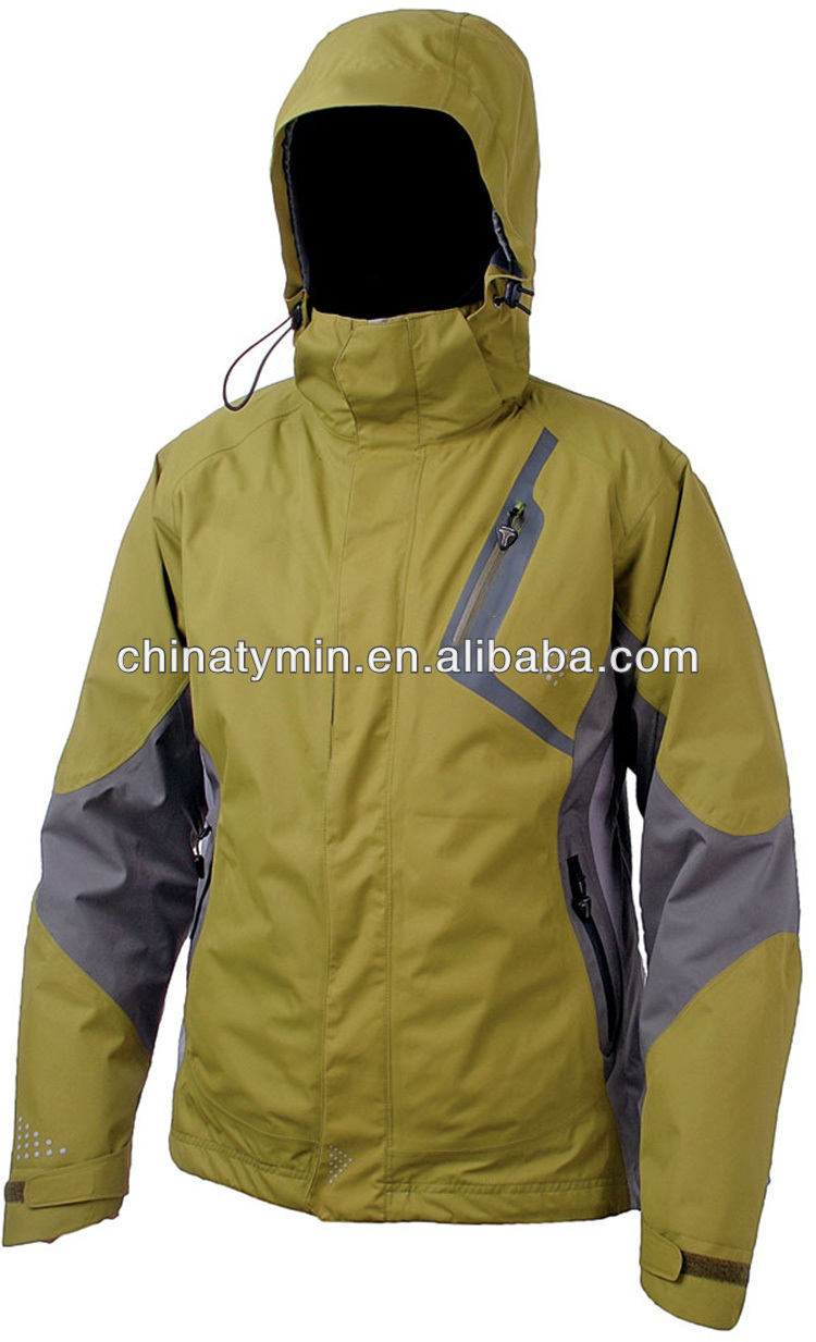 2014 New style ski racing suits manufacturers ski hooded jackets