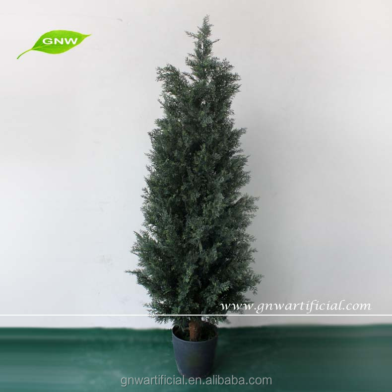Artificial Cypress Tree Pot Tree For Christmas Btr019 Gnw