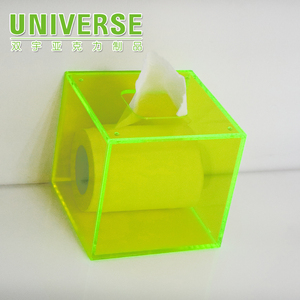 UNIVERSE Custom Restaurant PMMA Facial Napkin Box Tissue Dispenser