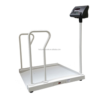 1.0m*1.0m 1000kg large industrial electronic wheel chair weighing floor scale price
