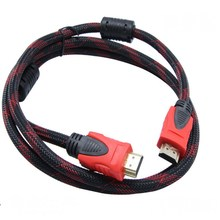 Free Shipping Dropship High Speed 1.5m 5ft HDMI Cable 1.4V 1080P HD w/ Ethernet 3D Ready HDTV 150cm