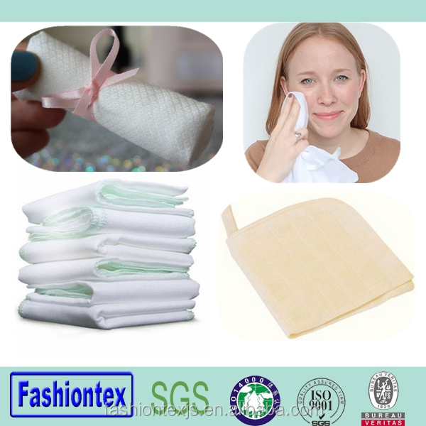promotion gift cosmetic facial cloth muslin cloths for face