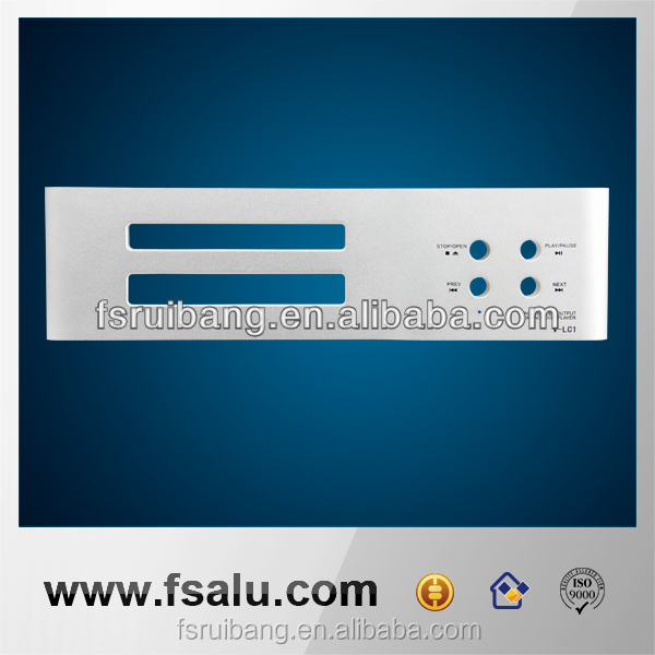 high quality audio metal faceplate