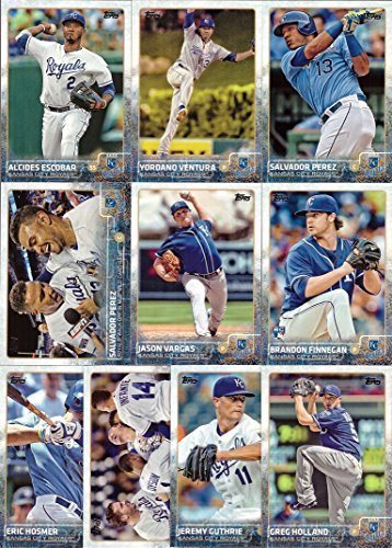 2015 Topps Series 1 2 Kansas City Royals Baseball Card Team Set 22 Card Set Includes Salvador Perez Alex Gordon Mike Moustakas Eric Hosmer