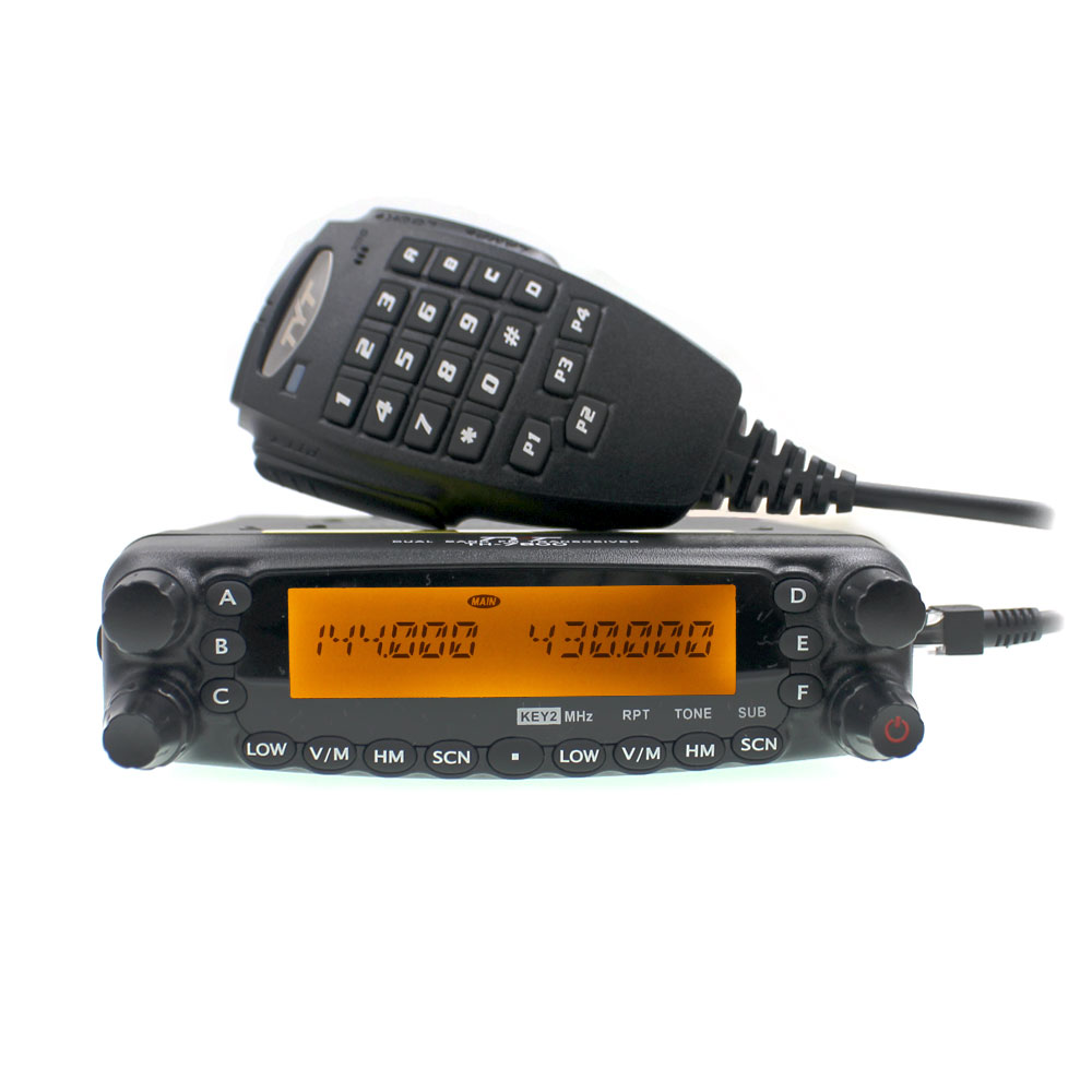 TYT TH-7800 50 W Long Range Car Rádio Dual Band Transceptor 144/430 MHz Rádio Do Carro walkie talkie 50 km