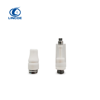 Dual coil cbd atomizer/cbd oil cartridge 510 glass vape CF01CBD Cartridge