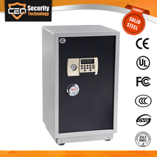 Storage Cabinet With Key Lock Hotel Home Office Electronic Metal Safe Box