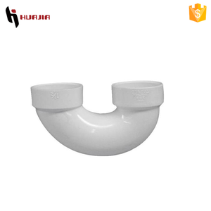 JH0387 180 degree pvc pipe u bend pvc pipe
