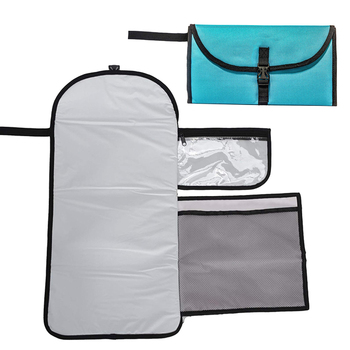 Portable Diaper Changing Pad Mat Folding Station Clutch Travel Carrying Bag for Baby Infants