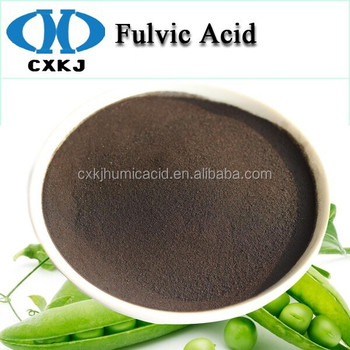 Black Brown Color 100% Soluble Humic Fulvic Acid With High ...
