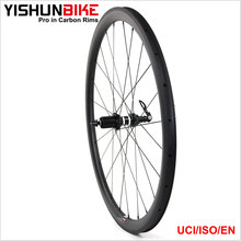 YISHUNBIKE oem china fabriek 700c racefiets/fiets racing wiel 33mm clincher tubeless <span class=keywords><strong>velg</strong></span> cx ray <span class=keywords><strong>spaken</strong></span> 350S-330C-TLR