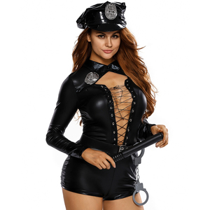Hot Sale Sexy Women Stylish Female Cop Police Costume