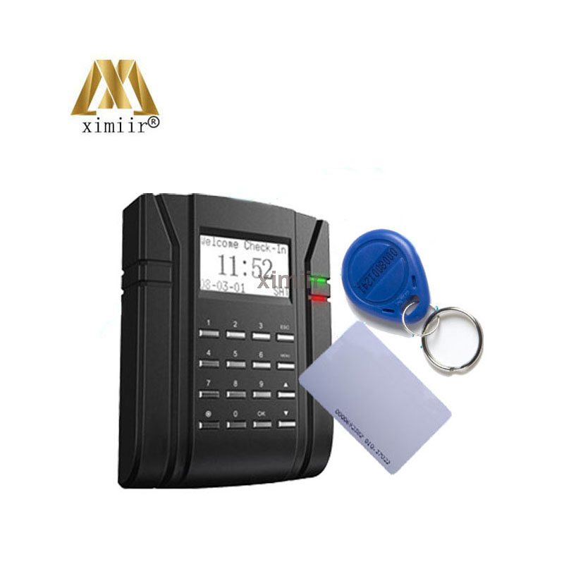 ZK TCP/IP SC203 ID/MF High Speed USB Key And Card Time Attendance And Door Access Control System